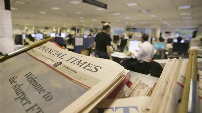 Financial Times lobbies to put an end to free speech