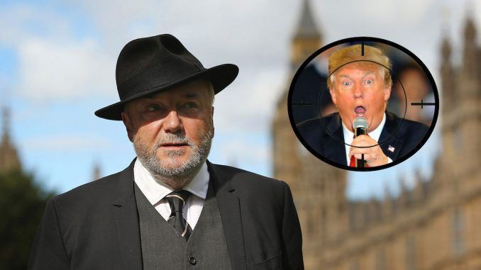 George Galloway warned Donald Trump the CIA is planning to assassinate him.