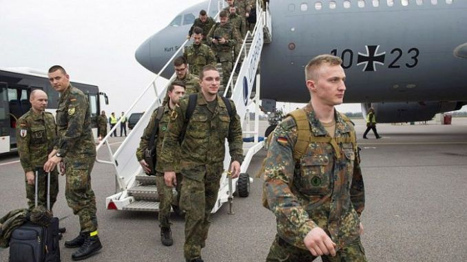 Germany To Deploy Troops Near Russian Border