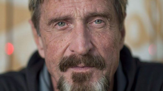 In case any of you believe that Hillary lost because Russia hacked the election, internet security guru John McAfee has a few words of advice for you.