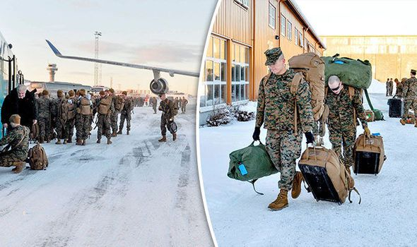 Russia Angry As US Troops Arrive In Norway