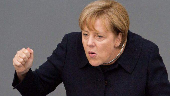 Angela Merkel announced her open-door mass migration policy, which directly brought terrorists to Germany, is a success that the rest of the world should follow.