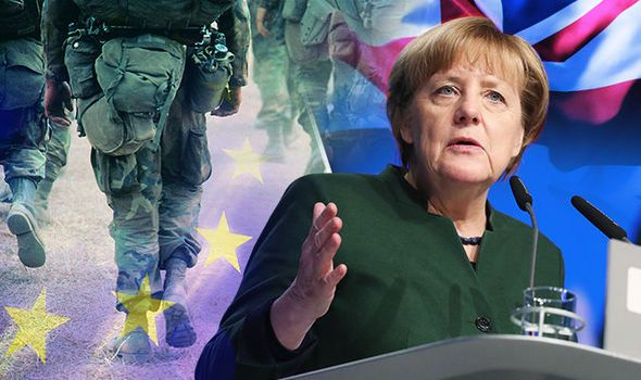 Angela Merkel Calls For EU Army Led By Germany To Defend Europe