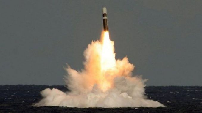British Government Covered Up Failed Nuclear Missile Test