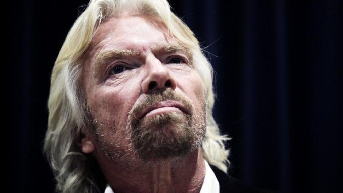Richard Branson threatens to reverse Brexit