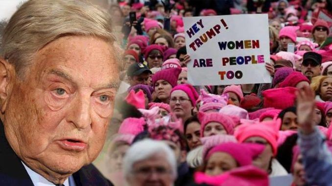 George Soros faces heavy criticism after funding the global women's marches