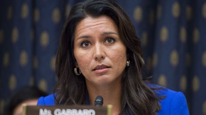 Congresswoman Tulsi Gabbard told CNN that she believes the U.S. government funded ISIS and Al-Qaeda.