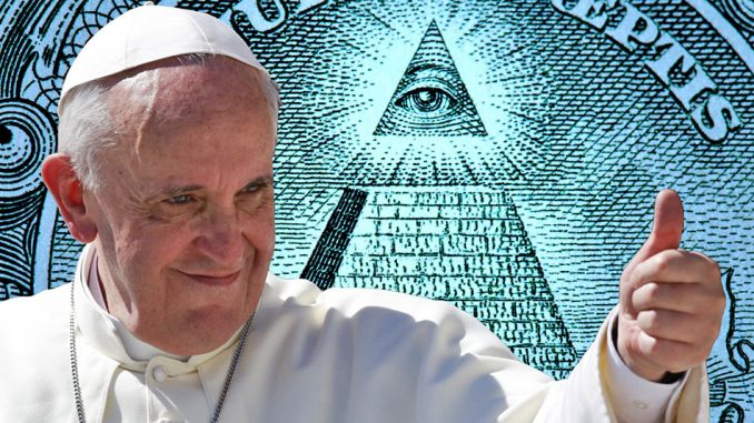 """The Vatican has called for a """"global public authority"""" and a """"central world bank"""" to rule over our 'outdated' financial institutions."""