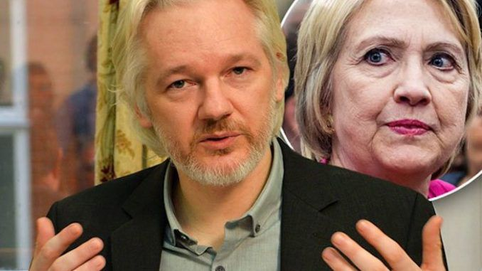 Wikileaks vows to expose Hillary Clinton's criminal deeds in 2017