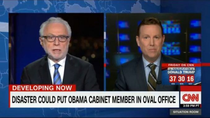 CNN's coverage of the upcoming inauguration took a dark turn on Wednesday when they suggested that Obama would retain the White House following an inevitable Trump assassination.