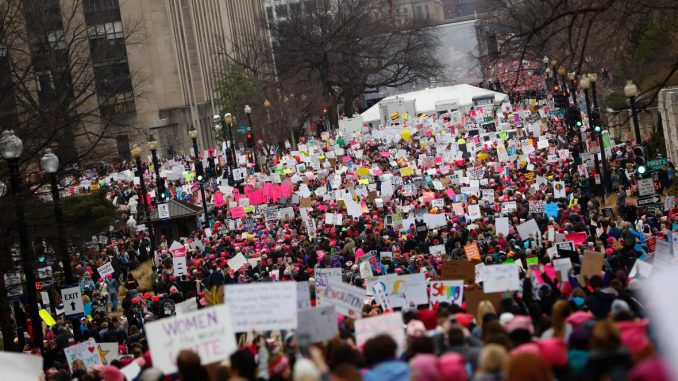 On the same day Trump rolled back Obamacare, hisnewplans had millions of women pounding the pavement and burning calories.