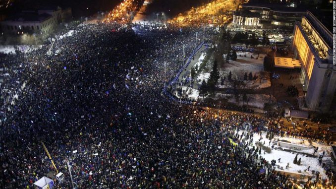 Anti-Soros protests rock Romania