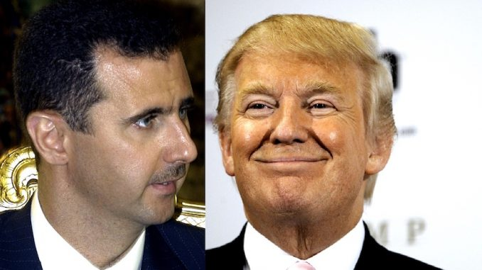 Syrian President Bashar al-Assad claims Trump is correct, some Syrian refugees are terrorists