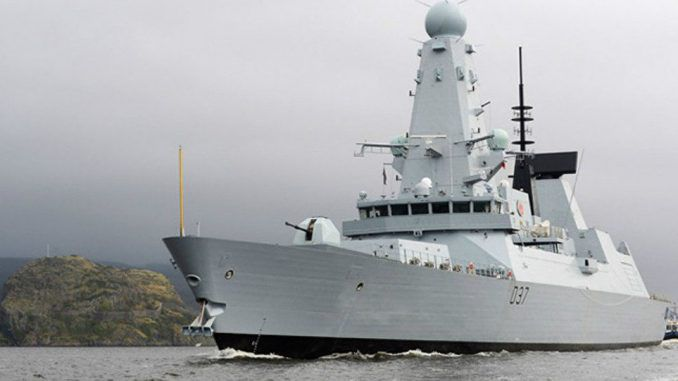 Britain deploy warships to Russian border in the Black Sea