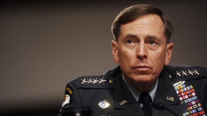 General Petraeus says the New World Order is collapsing