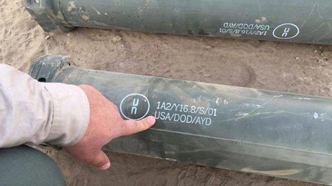 USA missiles found in ISIS base in Syria