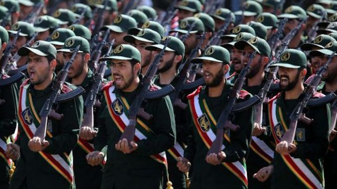 US to declare Iran military a 'terrorist group'