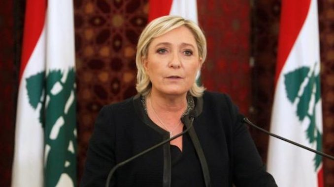 Marine Le Pen says she supports President Assad