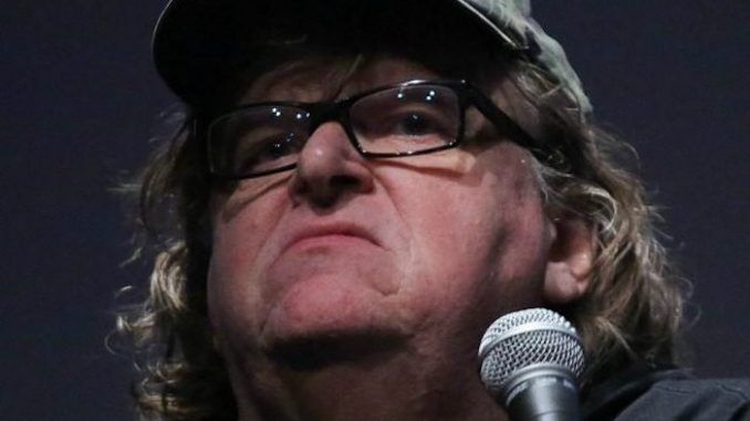 Leftist activist Michael Moore accuses Donald Trump of being a secret Russian