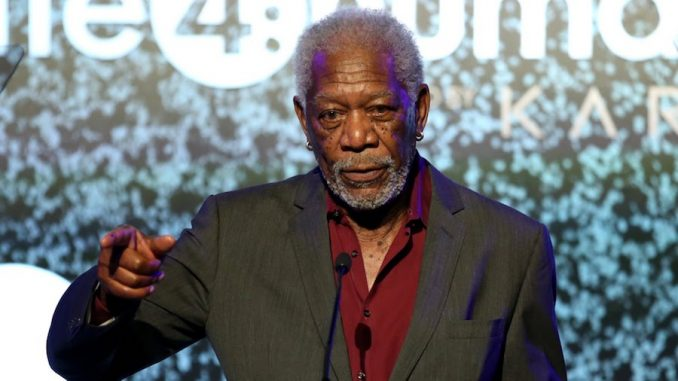 Morgan Freeman urges Hollywood to stop moaning about President Trump - asking fellow actors to give him a chance