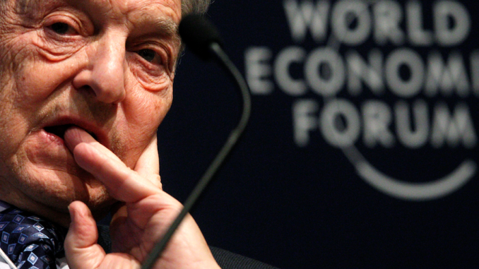 George Soros bets $500 million that the US economy will fail