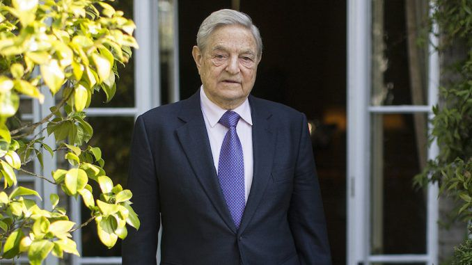 George Soros has ordered the U.S. military to overthrow President Trump