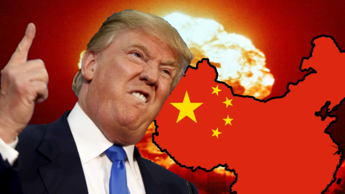 Trump prepares military to counter China plot to take-over California in war with America