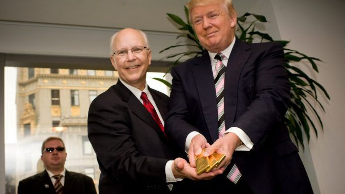 President Trump says he wants to bring back the gold standard