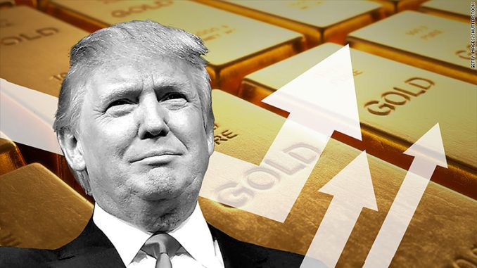 President Trump vows to reintroduce gold standard