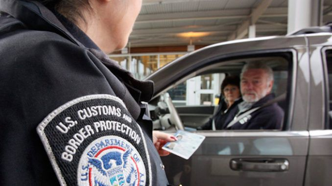 US border agents granted powers to detain Canadian citizens in Canada