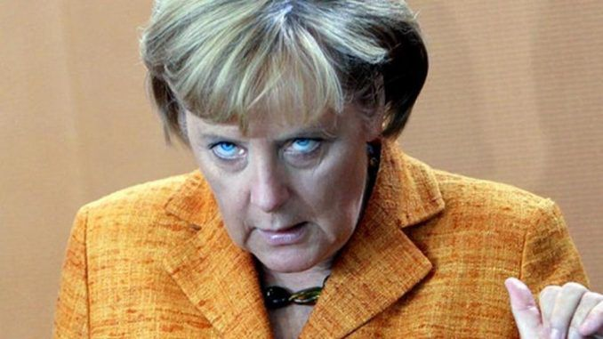 Angela Merkel threatens to make Germany into a superpower