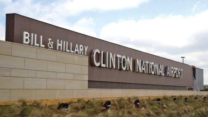 A bill in Arkansas is set to strip Bill and Hillary Clinton's names from the largest and busiest airport in the state as punishment for the duo's sordid past.
