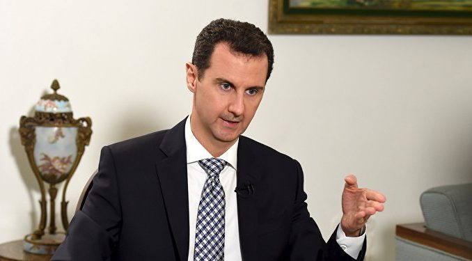 President Assad says that France are sponsoring ISIS militants in Syria