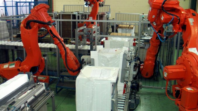 China announce productivity increase as they replace human workforce with robots