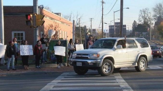 A new bill could grant U.S. drivers in Tennessee immunity from prosecution if they accidentally hit protestors standing in their way - even if the protestors suffer injuries.