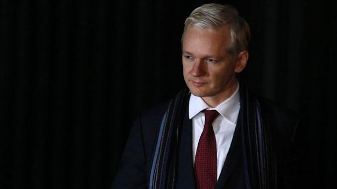 Julian Assange claims most newspapers are weaponized texts