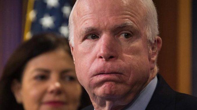 Wikileaks accuse John McCain of taking money from Russia