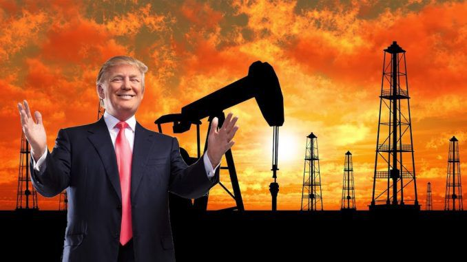 The United States has become a major exporter of crude oil since President Trump took office, sending a record 7 billion barrels into the world market last week.