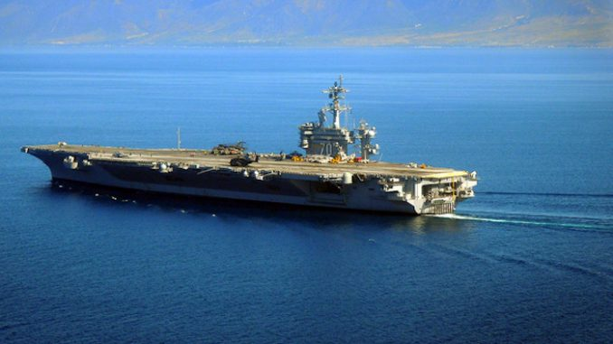 US aircraft carrier deployed to South China Sea for 'routine' mission