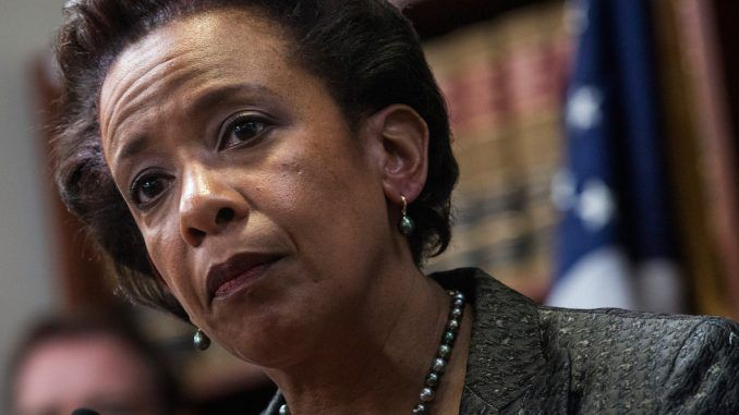 Former attorney general Loretta Lynch could face prosecution after signing off on Trump wiretaps