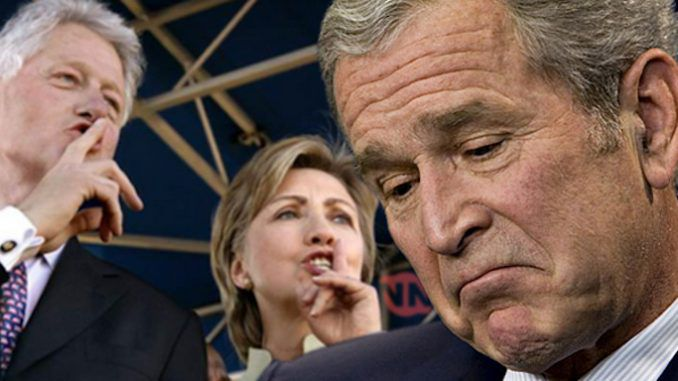 Wikileaks reveals that George W. Bush and Karl Rove both covered up an elite pedophile ring investigation