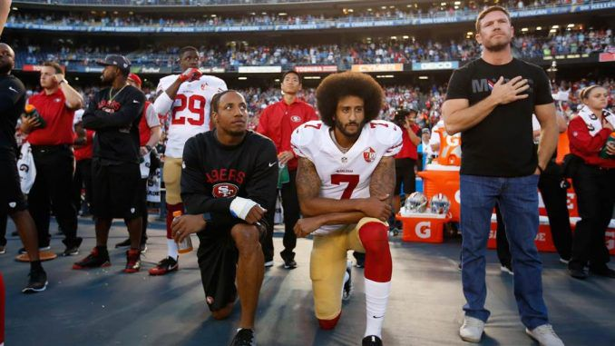 """Unemployed quarterback Colin Kaepernick """"won't play again"""", with one NFL team executive calling the controversial quarterback """"an embarrassment to football"""" and another declaring """"his career is over, nobody will touch him."""""""