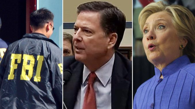 FBI Director James Comey let Hillary walk free because she knew the dirt on wiretapping allegations
