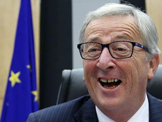 """Jean-Claude Juncker, president of the EU, threatened to """"break up the United States"""" by campaigning for Texas and Ohio to leave the Union."""