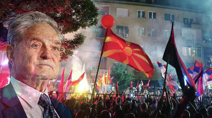 George Soros fuels civil unrest in Macedonia
