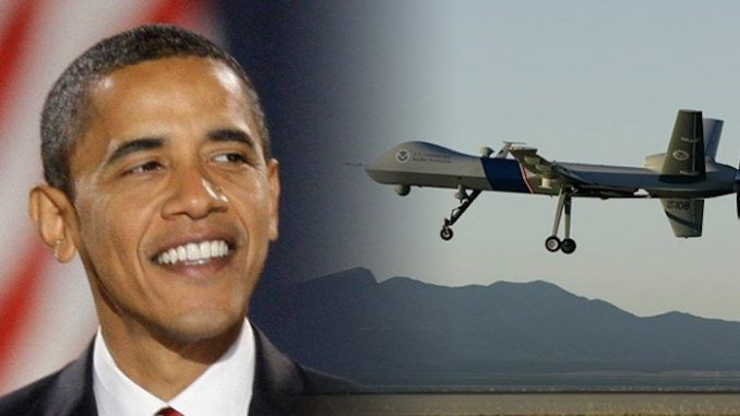 Obama given JFK award for droning thousands of civilians