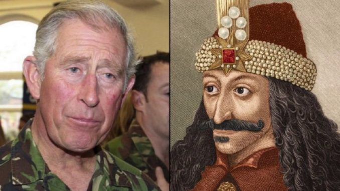 Prince Charles reconnects with Vlad the Impaler bloodline in Romania