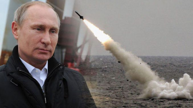 Putin unveils Russian hypersonic cruise missile
