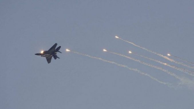 Syria shoot down Israeli aircraft suspected of helping ISIS