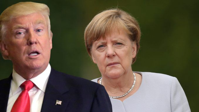 President Trump to meet German chancellor Angela Merkel and discuss immigration crisis